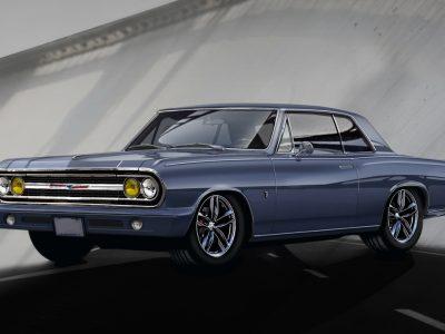 1969 Chevrolet Chevelle Blue